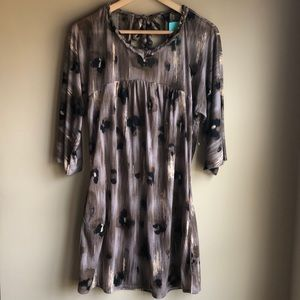 Forever 21 animal print tunic